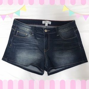 ⚡️SALE⚡️Dark wash juniors jean shorts
